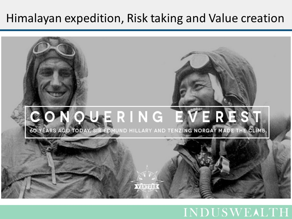 Himalayan Expedition, Risk taking & Value creation-Slide1