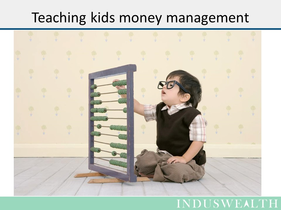 Teachng Kids about money -Slide 1